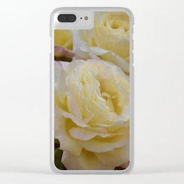 Rose 313 Clear iPhone Case