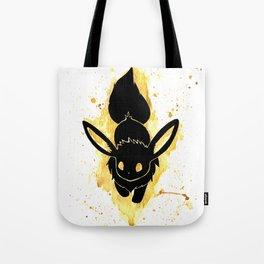 Eevee Splash Silhouette Tote Bag