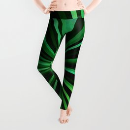 North Texas Green Sun Leggings