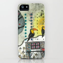 """Marusja""  Illustrated print iPhone Case"