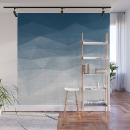 Imperial Topaz - Geometric Triangles Minimalism Wall Mural