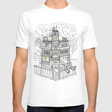 Is It Halloween Yet? Mens Fitted Tee White SMALL