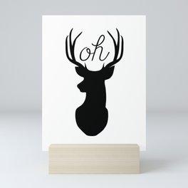 Oh Deer Mini Art Print