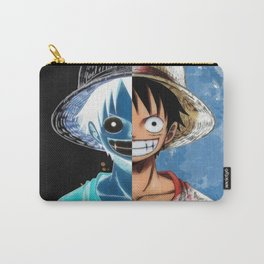"""Luffy Smile """"Two Face"""" Carry-All Pouch"""