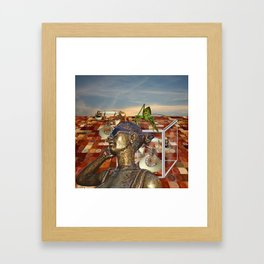 Practical things these cell phones Framed Art Print