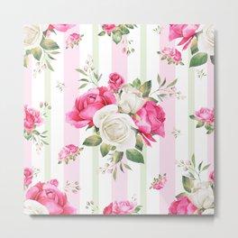 Belle époque flower power Metal Print