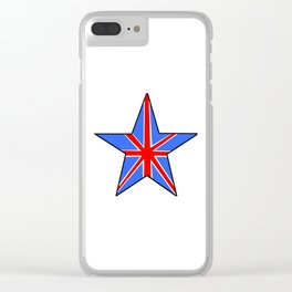 Flag of UK 14- London,united kingdom,england,english,british,great britain,Glasgow,scotland,wales Clear iPhone Case