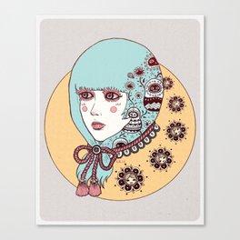 .idle.idol Canvas Print