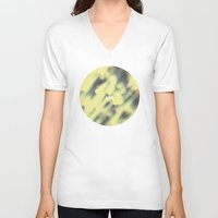 bokeh V-neck T-shirts featuring Bokeh. by Sobriquet Studio