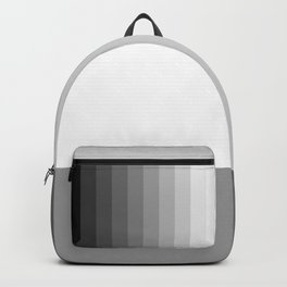 Grey Scale | Minimal | Simple | Basic | pulps of woo Backpack