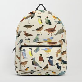 Great collection of birds illustrations  Backpack