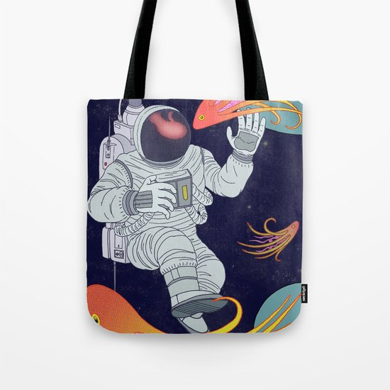 Cosmonaut Tote Bag