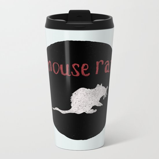 Mouse Rat Metal Travel Mug