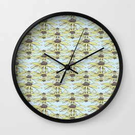 Stockholm Garden Flower Blooming Wall Clock