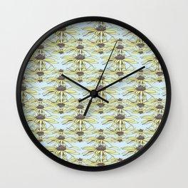 Stockholm Garden Flower Blooming Wall Clock