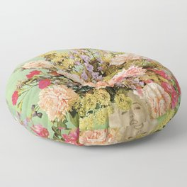 Floral Fashions II Floor Pillow