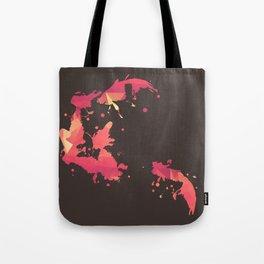 Goldfish Swimming Tote Bag