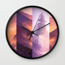 Fraction Wall Clock