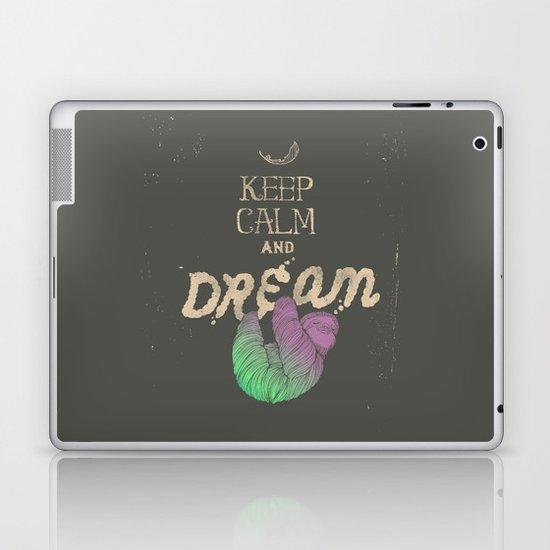 Keep Calm and Dream Laptop & iPad Skin