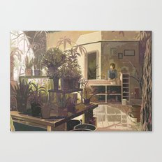 warble Canvas Print