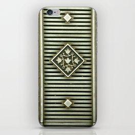 Metal Panel iPhone Skin