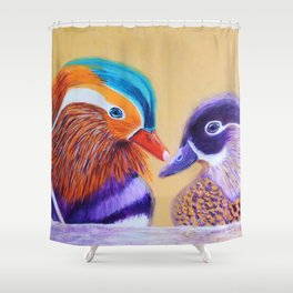 Lovers | Amants Shower Curtain