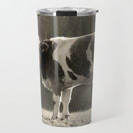 Cow in Field Travel Mug
