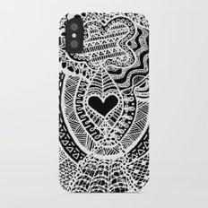 Love Doodle Slim Case iPhone X