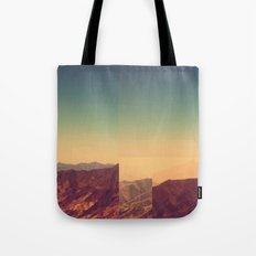 Mountains Clashed Tote Bag