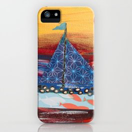Pilgrims Journey iPhone Case