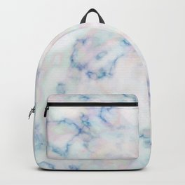 Motley Blue Marble Gem Stone Backpack