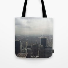 Central Park in the Fog Tote Bag