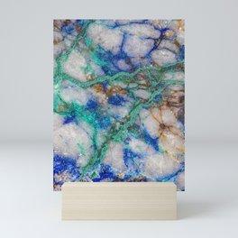 Rock Veins Mini Art Print