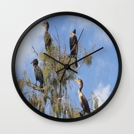 Cormoran Tree Wall Clock