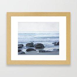 Rocky Beach Framed Art Print