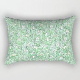 The disturbance of the spring 2 Rectangular Pillow