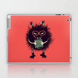 Evil Bug Student Loves To Read Laptop & iPad Skin