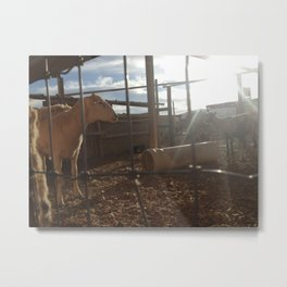 Just Call Me Ovine in the Morning Metal Print