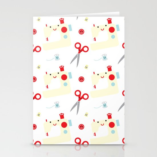 Sewing fun Stationery Cards