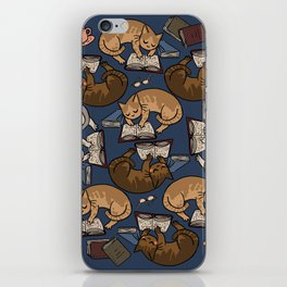 Book Cats iPhone Skin