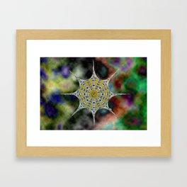 the star or octopus Framed Art Print