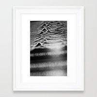 joy division Framed Art Prints featuring joy division by Sara Eshak