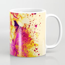 splash flowers Coffee Mug