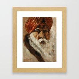 Sikh Man Framed Art Print