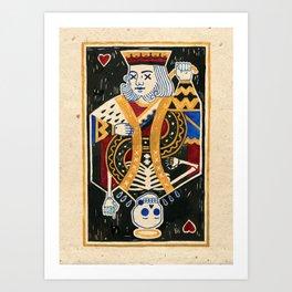 Cho-King. Art Print
