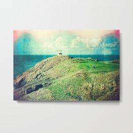 Golfing Grandeur (Textured)  Metal Print