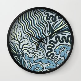OCEAN CRUST Wall Clock