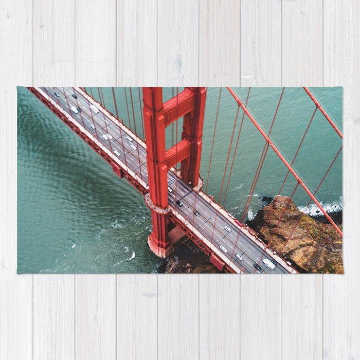 san francisco golden gate bridge Rug