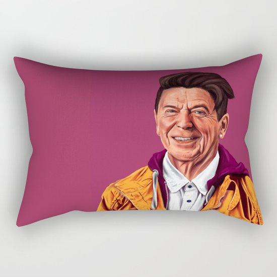 Hipstory - Ronald Reagan Rectangular Pillow