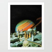 religion Art Prints featuring The religion  by Hugo Barros